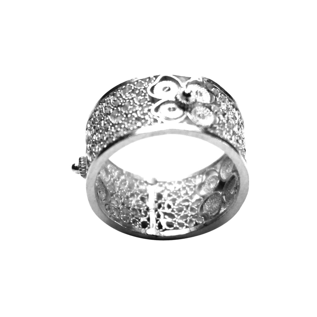 Filigree Daisy Ring - Agora Jewellery London