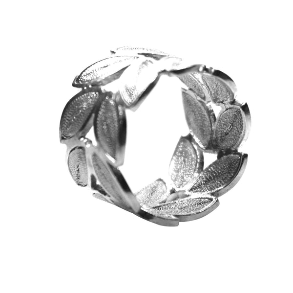 Filigree Laurel Ring - Agora Jewellery London