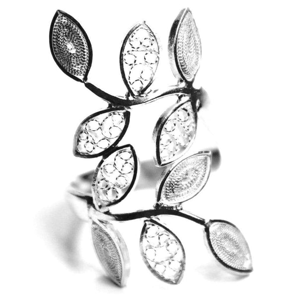 Leaf Ring - Agora Jewellery London