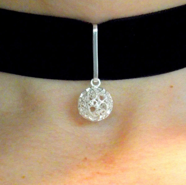 Filigree Helena Choker - AG Agora Jewellery London