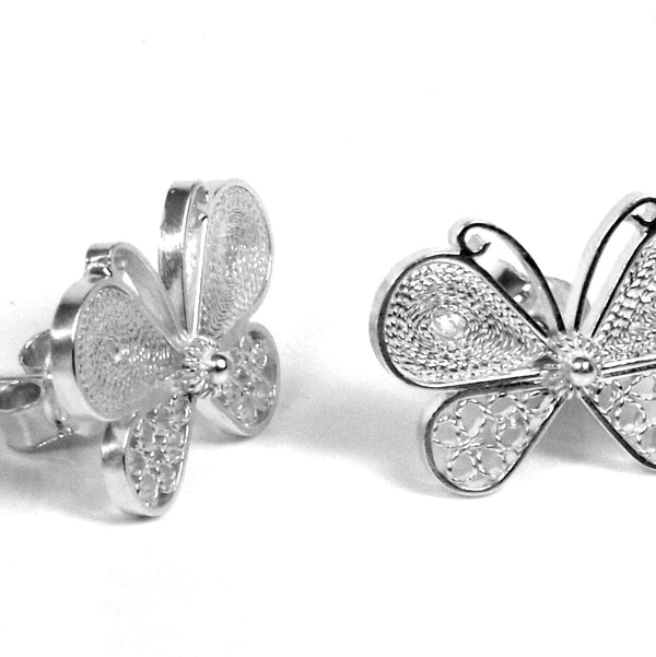 Aricia Butterfly Earrings - Agora Jewellery London