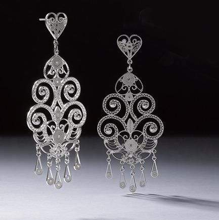 Agora Jewellery Ltd Earrings Chandelier Earrings