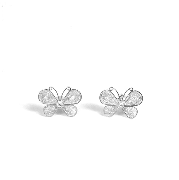 Cooper Butterfly Earrings - Agora Jewellery London