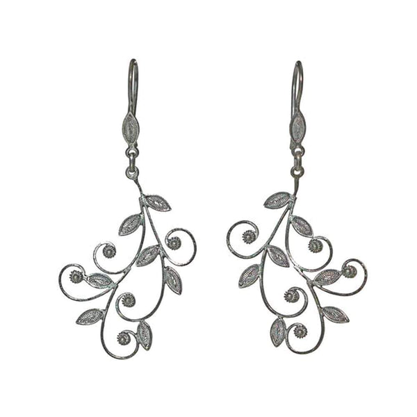 Filigree Darea Earrings - Agora Jewellery London