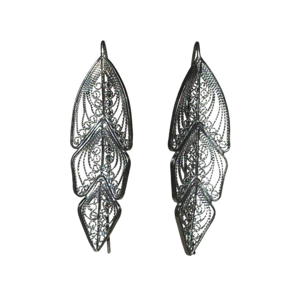 Filigree Lindy Earrings - AG Agora Jewellery London