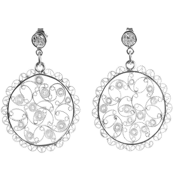 Filigree Melissa Earrings - Agora Jewellery London