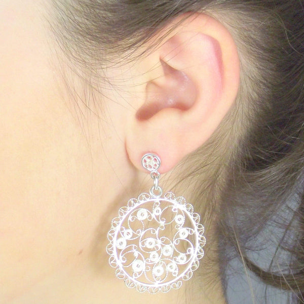 Agora Jewellery Ltd Earrings Filigree Melissa Earrings
