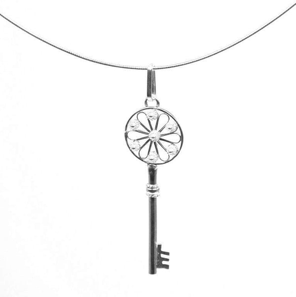 Memory Key Pendant - Agora Jewellery London