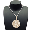 Filigree Sunny Flower Pendant - Agora Jewellery London