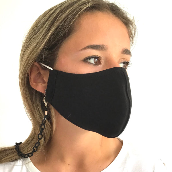 Silk Face Mask Chain