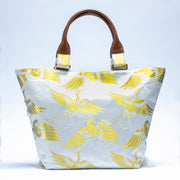 White crane Tote Bag No.003