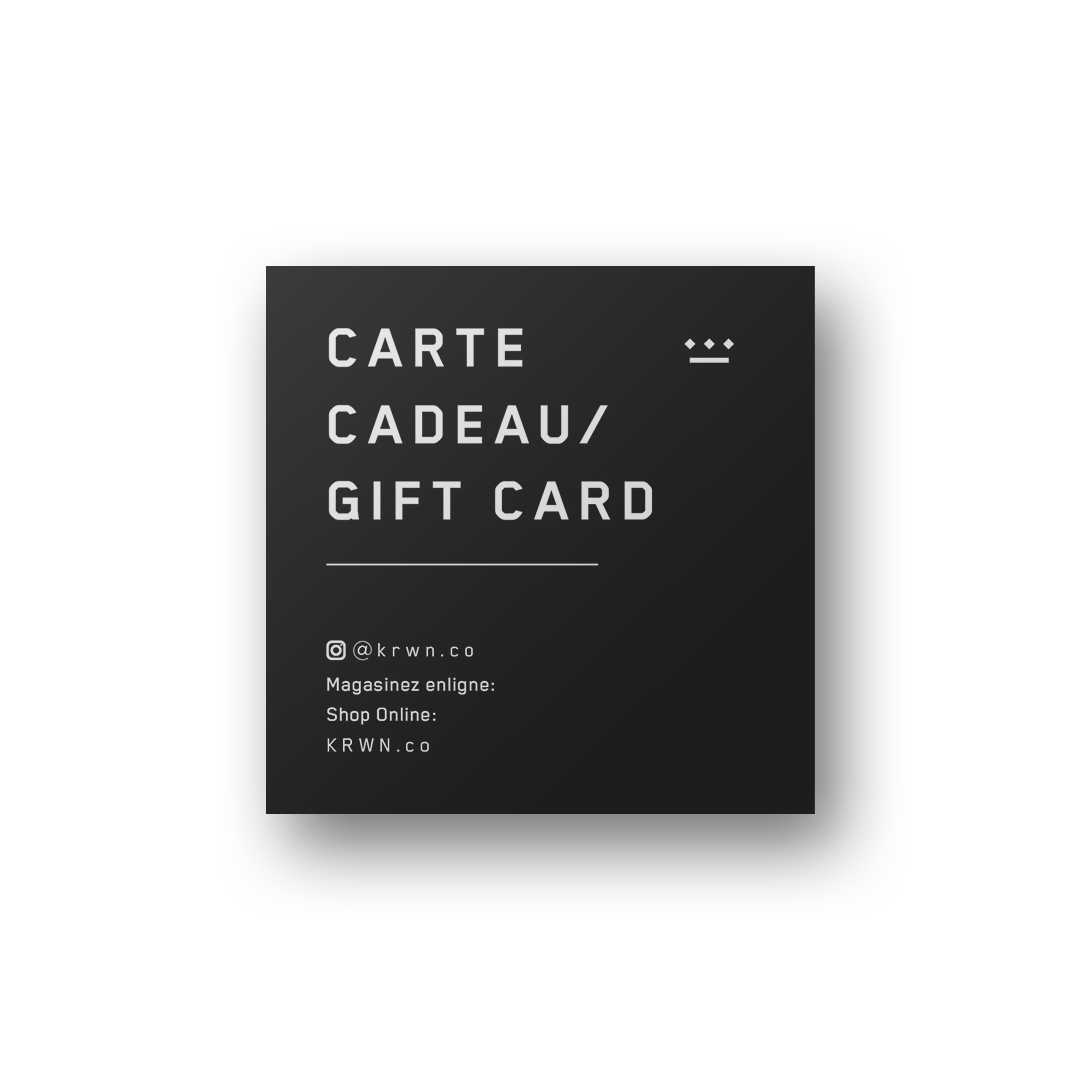KRWN Gift Card (online shop only)