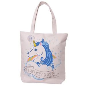 I Don't Believe in Humans Unicorn Bag