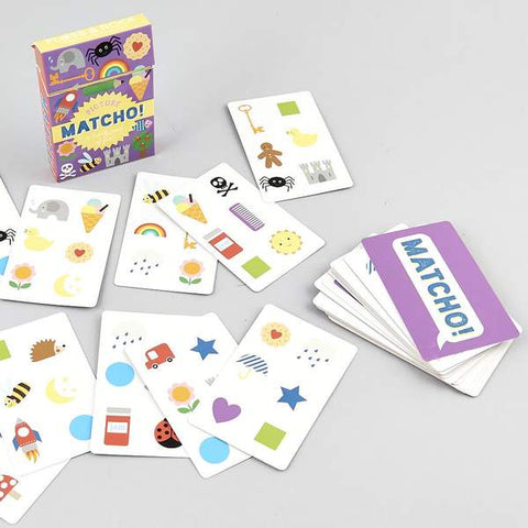 Matcho card game