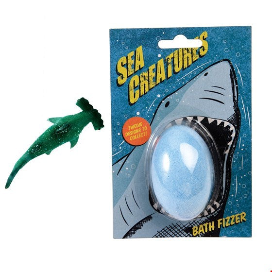 Sea creature bath fizzer