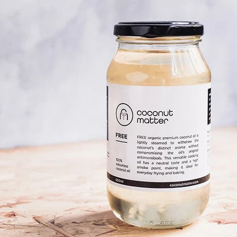 FREE Odourless coconut oil