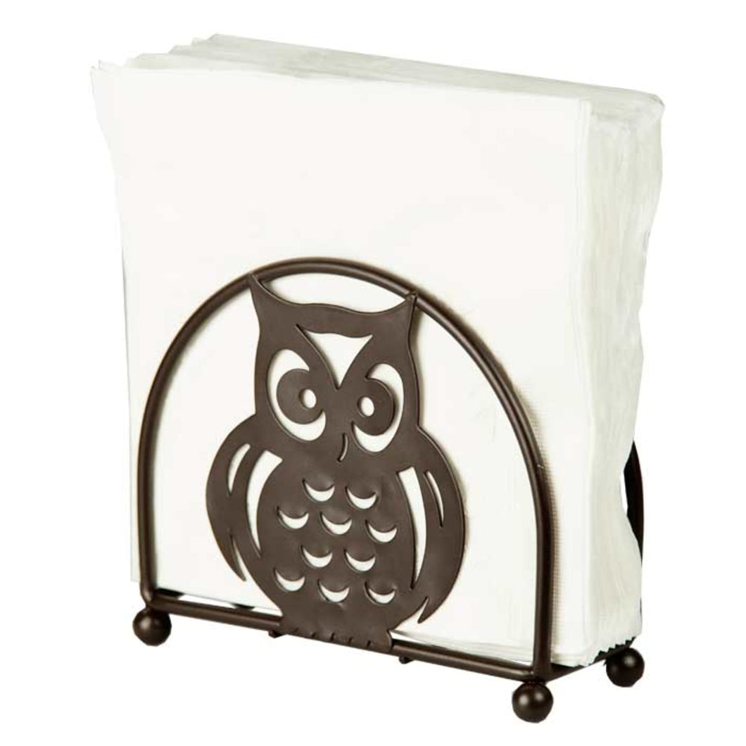 Home Basics Owl Napkin Holder, Bronze CASE PACK OF 12