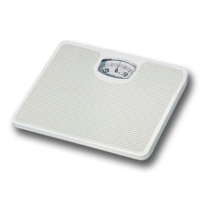 Home Basics Classic Step On 280 lb Capacity Non-Skid Personal  Body Weighing Mechanical Bath Scale