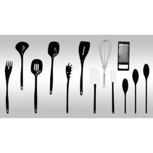Home Basics 14 Piece Kitchen Tool Set with Revolving Crock CASE PACK OF 12