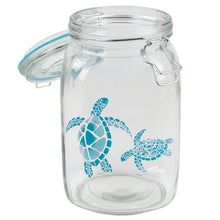 Load image into Gallery viewer, Home Basics Coastal Collection 51 oz. Glass Jar