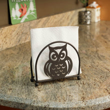 Load image into Gallery viewer, Home Basics Owl Napkin Holder, Bronze CASE PACK OF 12