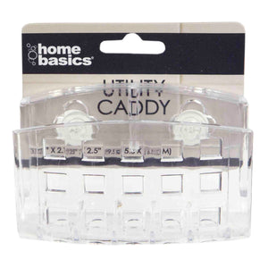 Home Basics Utility Caddy with Suction Cups CASE PACK OF 24