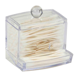 Home Basics Cotton Swab Holder CASE PACK OF 12
