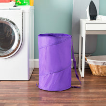Load image into Gallery viewer, Sunbeam Mesh Barrel Laundry Hamper