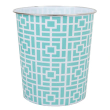 Load image into Gallery viewer, Home Basics Square 5 Liter Open Top Compact  Decorative Round Waste Bin