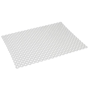 Home Basics Lattice PVC Sink Mat - Assorted Colors