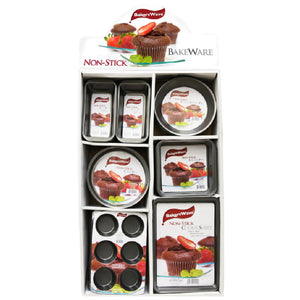 Bakers Wave 960 Piece Bakeware Display