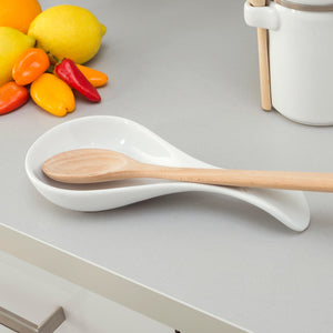 Home Basics Ceramic Spoon Rest CASE PACK OF 12