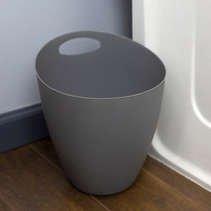 Home Basics Open Top Slim and Stylish Plastic 5 Lt  Waste Bin - Assorted Colors