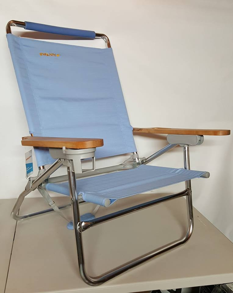 Wondrous 4 Position Beach Chair Folding Beach Lounge Cooler Chair New Home Interior And Landscaping Ferensignezvosmurscom