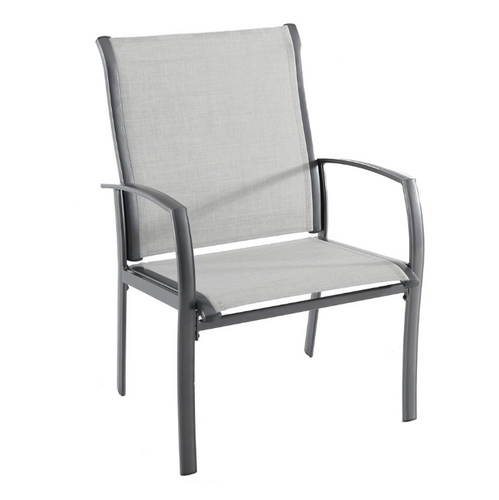 Commercial Grade Aluminum Oversized Outdoor Dining Chair's (2-Pack) ( NEW IN BOX )