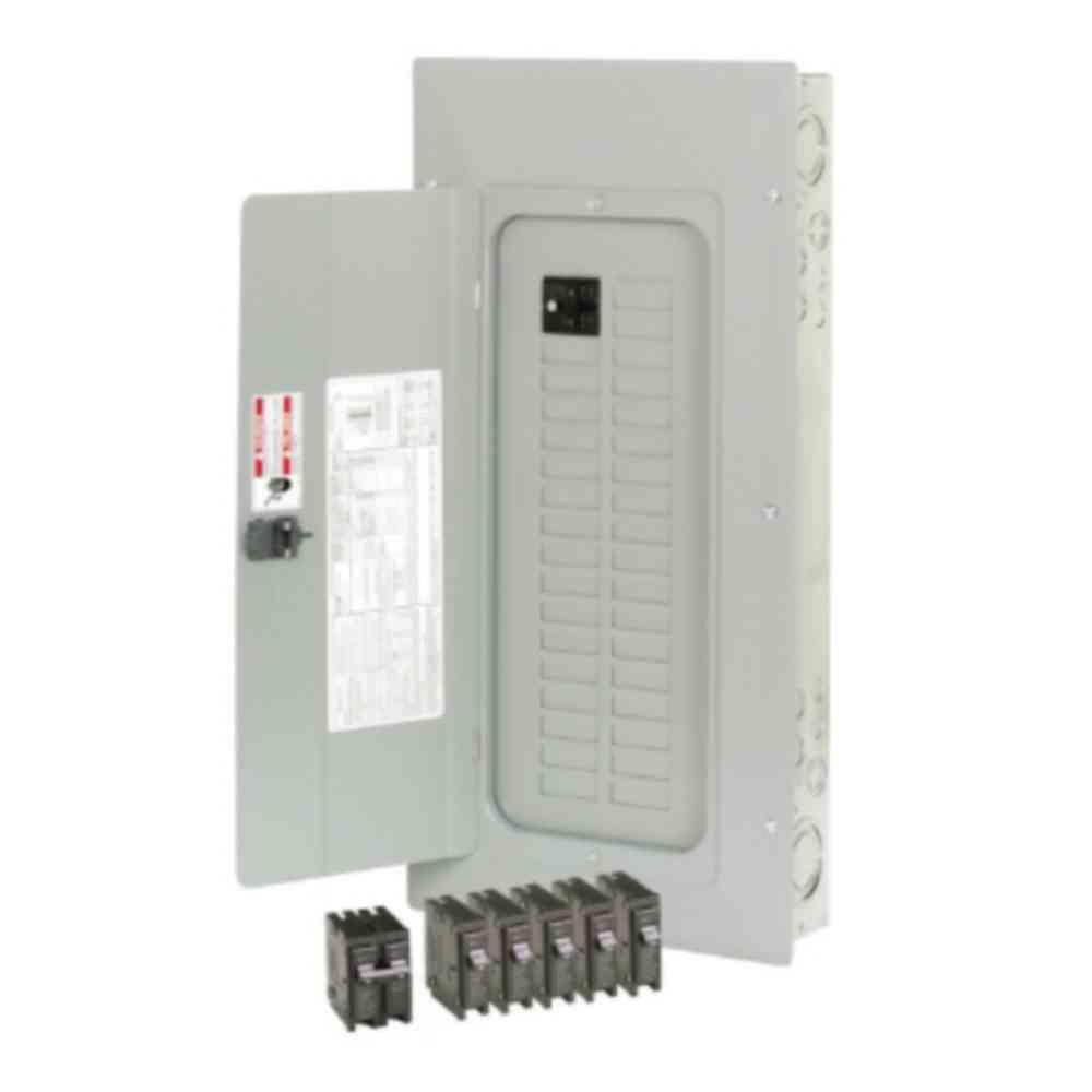 BR 100 Amp 30-Space 30-Circuit Indoor Main Breaker Loadcenter / Copper Bus Value Pack - (NEW IN BOX)