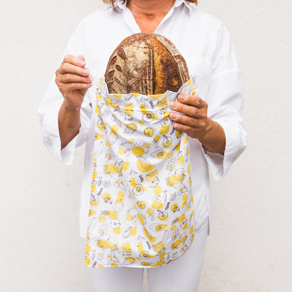Cotton produce bag for food - Fruit - Large