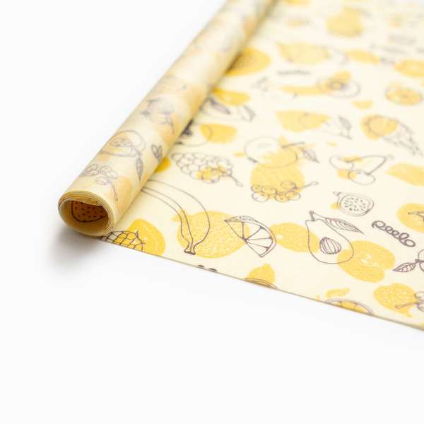 Beeswax wrap - 1 JUMBO PACK - Fruit