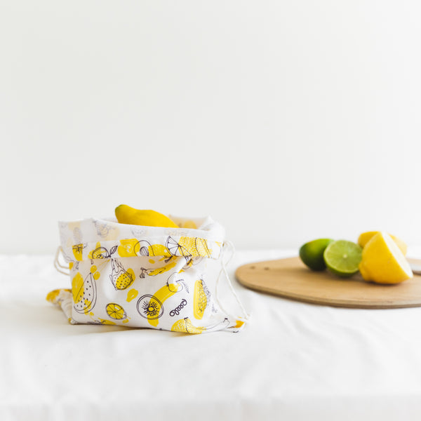 Cotton produce bag for food - Fruit - Small