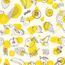 Load image into Gallery viewer, Beeswax wrap - 1 LARGE - Fruit