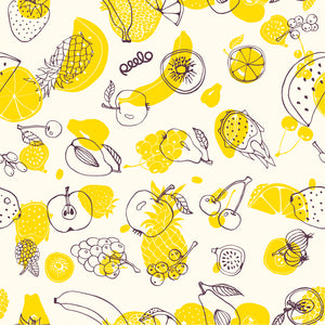 Beeswax wrap - 1 LARGE - Fruit