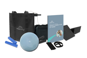 Continue your spinal correction at home with MaxLiving's Complete Homecare Kit. This kit includes all of the basics for your chiropractic homecare needs!