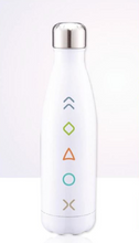 Load image into Gallery viewer, White 5 Essentials Water Bottle