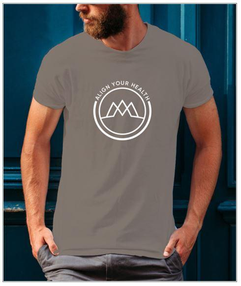 Gray Align Your Health Shirt