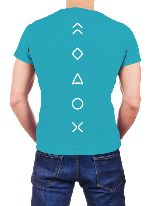 MaxLiving 5E Unisex Teal T-Shirt Front: MaxLiving Logo Back: 5 Essentials This updated essential unisex jersey t shirt fits like a well-loved favorite, featuring a crew neck, short sleeves and designed with superior Airlume combed and ring-spun cotton that acts as the best blank canvas for printing.