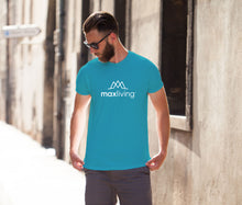 Load image into Gallery viewer, MaxLiving 5E Unisex Teal T-Shirt