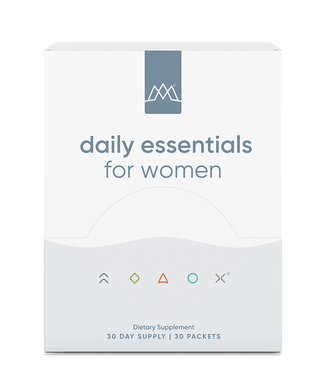 MaxLiving Daily Essentials For Women are your source of essential nutrients and additional nutrient support to keep you at your best in convenient 30-day supply packets. Included are all the vitamins your body needs to promote metabolism, improve immunity, promote skin, joint, and bone health, and more.