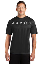 Load image into Gallery viewer, MaxLiving 5 Essentials Men's Black Short Sleeve Athletic Shirt