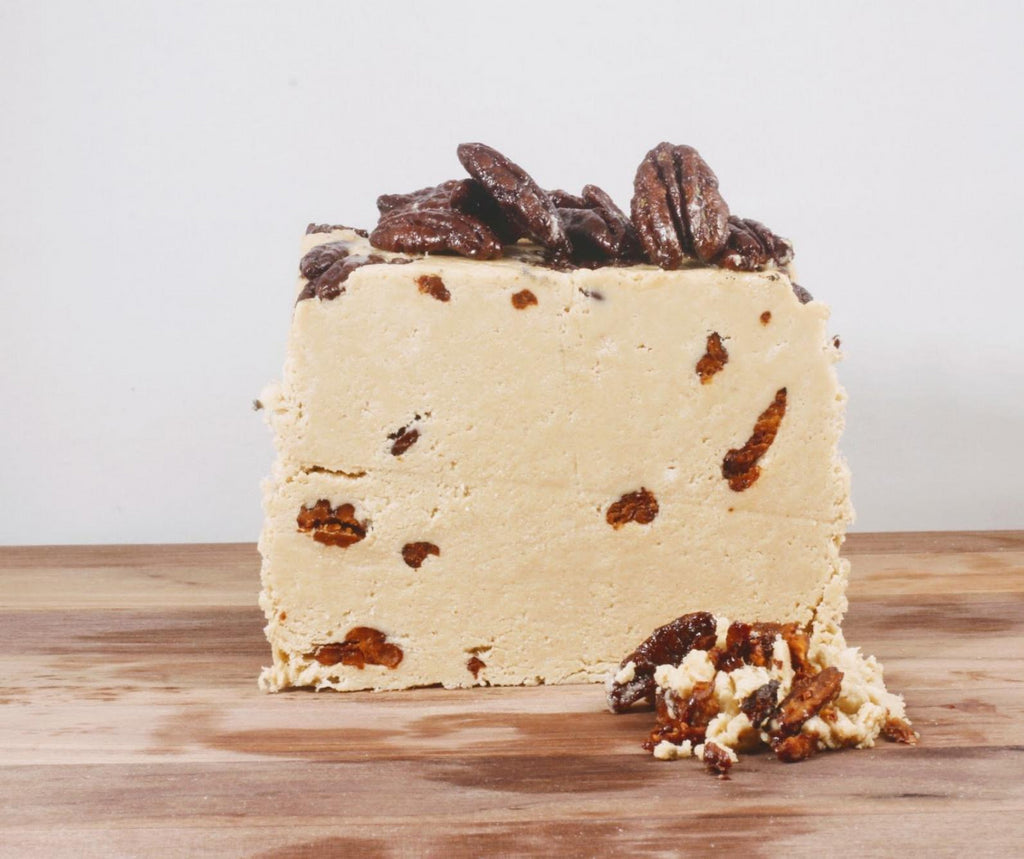 Candied Pecan Halva - Vegan