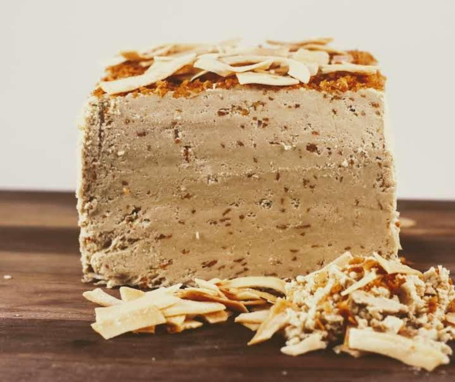 Toasted Coconut Halva - Vegan